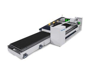 6000 મીમી મેટલ ટ્યુબ લેસર કટીંગ મશીન આપમેળે ફોકસ ઉચ્ચ શુદ્ધતા