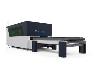બુદ્ધિશાળી મેટલ ફાઇબર લેસર કટર સરળ ટ્રાન્સમિશન સારી કઠોરતા