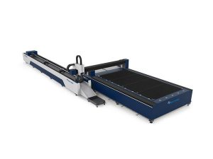 મેટલ ટ્યુબ 3 ડી લેસર કટીંગ મશીન / ઓટો પાઇપ કટીંગ મશીન