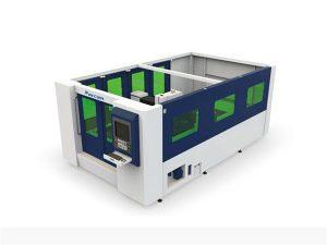 બંધ ટ્યુબ અને શીટ માટે મિનિ 500 ડબલ્યુ ફાઇબર લેસર કટીંગ મશીન