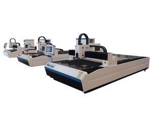 મેટલ પ્લેટ માટે ઉચ્ચ ચોકસાઇ ફાઇબર લેસર કટીંગ મશીન ડ્યુઅલ રેખીય મોટર