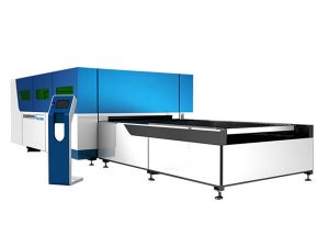 કોન્ટેક્ટલેસ કટીંગ હેડ સાથે industrialદ્યોગિક 3 ડી લેસર કટીંગ મશીન