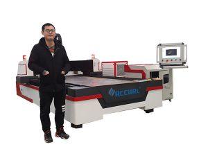 કોપર / ટાઇટેનિયમ માટે રેખીય માર્ગદર્શિકા ડ્રાઇવ સીએનસી લેસર પાઇપ કટીંગ મશીન